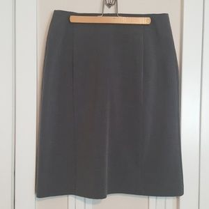 Fashion Bug Medium gray pencil skirt